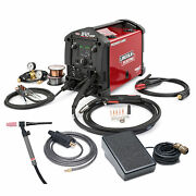 Lincoln Power Mig 210 Mp Multi-process Mig And Stick Welder With Tig Kit K4195-2