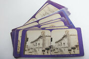 14 Stereoview Flat Cards Of Italy C.1860 Stereo 3d Jean Andrieu Ja Photo
