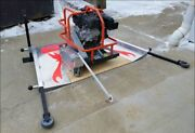 Packer Brothers Early Entry Concrete Cement Soff Cut Saw Platform Made In Usa