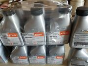 36 Pc Stihl Hp Ultra Synthetic 501 Oil Mix Each 5.2oz-2 Gallon. 2-cycle Engine