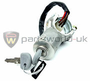 Fiat Ducato And Talento Upto 1994 Ignition Switch Housing And Keys Genuine 7555388