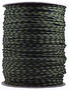 Olive Drab And Moss - 550 Paracord Rope 7 Strand Parachute Cord - 1000 Foot Spool