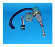 Fuel Shutoff Solenoid W/electric Connector Forcase J93252 Tractors Skid Steer And