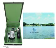 New Pond Aerator Pump Cabinet Enclosure W/locking Lid+ Cooling Fan+ Gfci Outlet