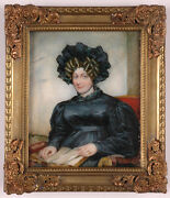 Henry Collen B.1798 English Lady High Quality Large Miniature