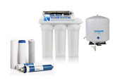 Well Water Reverse Osmosis Water System 6 Stage Permeate Pump Uv Anti-scaling Lp