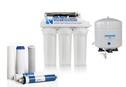 Well Water Reverse Osmosis Water System 6 Stage Permeate Pump Uv Scale Reduction