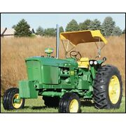 Tractor Sun Shade Buggy Style Yellow Color- 48