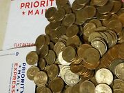 Random Lot Of 450 In Circulated Dollar Coins. Real And Spendable U.s. Money Fast