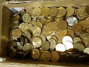 Random Lot Of 500 In Circulated Dollar Coins. Real And Spendable U.s. Money Fast