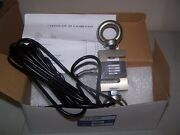 Load Cell S Type St-1k 1000 Lb Alloy Steel, 2 Eye Bolts, Brand New