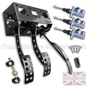 Fits Citroen C2 Top Mounted Hydraulic Pedal Box + Kit And Ap Cylinders Cmb6080-ap