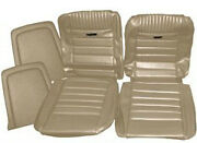 Ford Mustang Deluxe Pony Seat Trim Kit Palomino 64 65 66 1964 1965 1966 Fastback