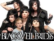 Your Picture On A T Shirt / Item With Black Veil Brides Andy, Jake, Jinxx, Ashl
