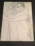 George Segal - Gs2- Hand Signed Limited Edition Original Lithograph Made In 1978