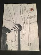 George Segal - Gs7- Hand Signed Limited Edition Original Lithograph Made In 1978