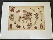 Dr. Lakra - Mod. 10 - Rare Hand Signed And Numbered Original Etching Made In 2008
