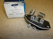New Ford F2hz-18591-a Resistor Nos Free Shipping