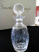 Waterford Lismore Crystal Decanter 8h 4.5 Top Excellent Condition