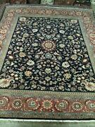 Hand Knotted Rare Super Fine Pakpersian Rug Rich Wool Pile 8and039x11and039