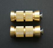 Accutronix Brass Knurled Grooved 2-1/4 Toe Pegs