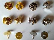 Tie Tacks Tacs Scatter Blank Butterfly Pin Backs Clutch Clasp Findings Brooches