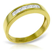 Brand New 0.6 Carat 14k Solid Gold Surprise Thrives Here White Topaz Ring