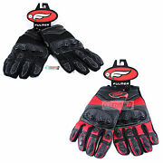 Fulmer Menand039s Motorcycle Gloves G22 Hard Knuckles Riding Hand Protection Vented