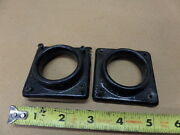 Aircraft Control Yoke Panel Guide Hole Support Trim Covers Pair 1.5