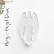 25 Acrylic Christmas Ornaments Blank Angel David 1/8 Thickselect Size And Color
