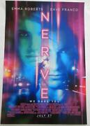 Sdcc 2016 Exclusive Nerve Emma Roberts And Dave Franco Poster 13 X 20