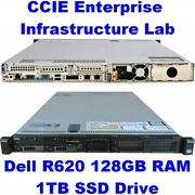 Cisco Ccie Lab Enterprise Infrastructure Ei Ine Dell R620 128gb Eve-ng Sd Wan
