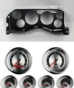 90-93 Mustang Carbon Dash Carrier W/ Auto Meter American Muscle Gauges