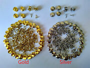 Gold Silver Brass Tie Tacks Tac Locking Pin Backs Keepers Saver Finding Brooches