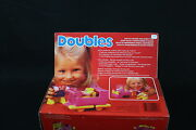 Yy113 Mattel Vintage 1985 2047 Poussette Coiffeuse Stroller Vanity Mother Baby