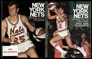 1972 N Y Nets Indiana Pacers Kentucky Colonels Aba Finals Playoff Programs 2