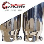 Mbrp 4 Inlet 5 Tip Cover Set-6¾ And 9¾ In Length T304 For F250/350/450 T5111