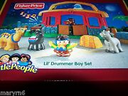 Little People Lil' Drummer Boy Christmas Nativity Case Out Of Prod. Fisher Price
