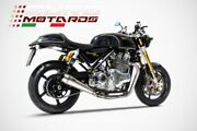 Norton Commando 961 Se Zard Exhaust Full System 2to1 Silencer With Db Killer New