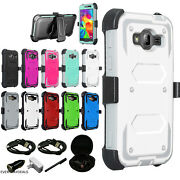 For Lg Zte Motorola Htc - Tri Layer Phone Case Cover Screen And Clip Holster Extra