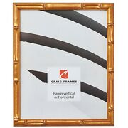 Craig Frames .75 Wide Vintage Gold Faux Bamboo Picture Frames And Poster Frames