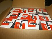 New Fram G3587 In-line Fuel Gas Filters, Case Lot Of 12 Free Shipping