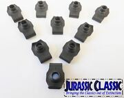 1946-1980 Ford 10pk 3/8-16 Extruded Fender U-nuts Clips Hood Body Panel Trunk