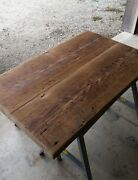 Country Rustic Reclaimed Barn Wood Table Top