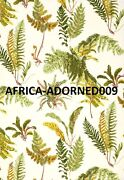 Schumacher All Over Ferns Les Fougeres Linen Fabric 10 Yards Spring