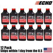 12 Genuine Oem Echo Red Armor 2 Cycle Oil 2.5 Gallon Mix 501 6550025 6.4oz