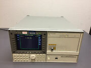 Hp 70004a Spectrum Analyzer Display And Hp 70311a Clock Source