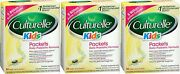 Culturelle Kids Probiotic 30 Flavorless Packets 3 Boxes Priority Ship