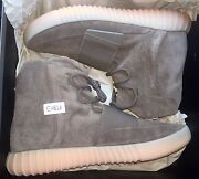 Adidas Yeezy Boost 750 Chocolate Brown In Hand Size 10 11.5 13 Kanye West By2456