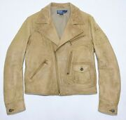 Vintage Polo Men's Great Rare Leather Jacket Size M